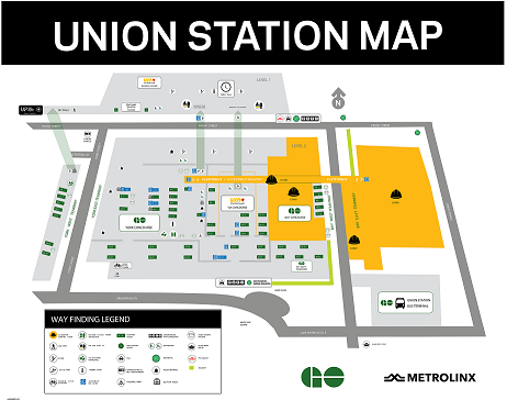 Union Station map