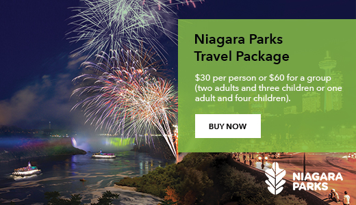 Niagara Parks Travel Package - Buy Now