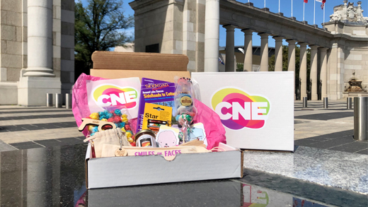 CNE in a box on display