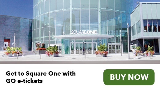Get to Square One with GO e-tickets. Buy now.