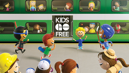 Kids GO Free | GO Transit Child Fare | GO Transit