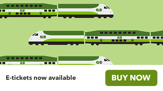 go transit train e-tickets now available buy now