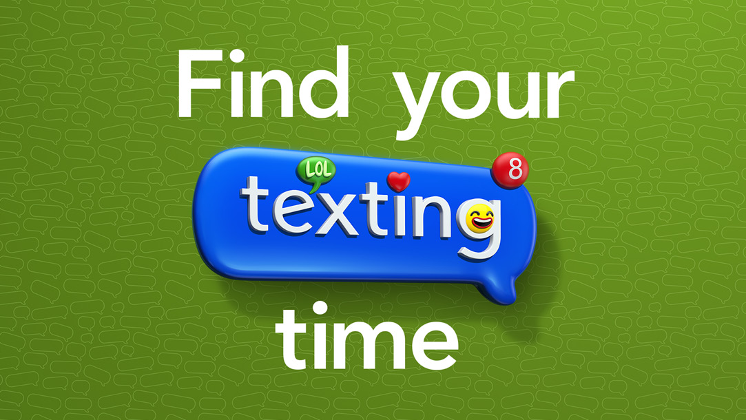 Find your texting time