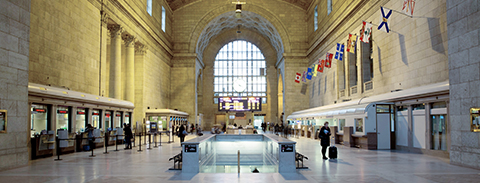 Photo of the Union Station Great Hall.